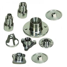 China Precision Turned Parts Hot-dip Galvanized Iron Steel Metal Machined parts supplier
