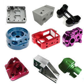 China Custom Made Aluminum Alloy Precision CNC Machined parts supplier
