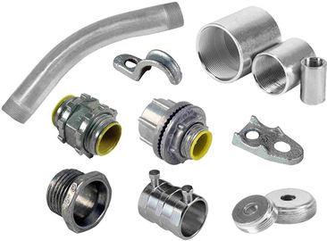China Professional Custom EMT Electrical Conduit Fittings Aluminum Alloy For Engines supplier