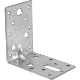 China L Shape Metal Building Brackets Stainless Steel Customized 40 * 40 * 17mm supplier