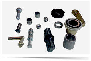 China Hard Steel Forklift Truck Parts CNC Turning With Color Anodized Custom Tolerance supplier