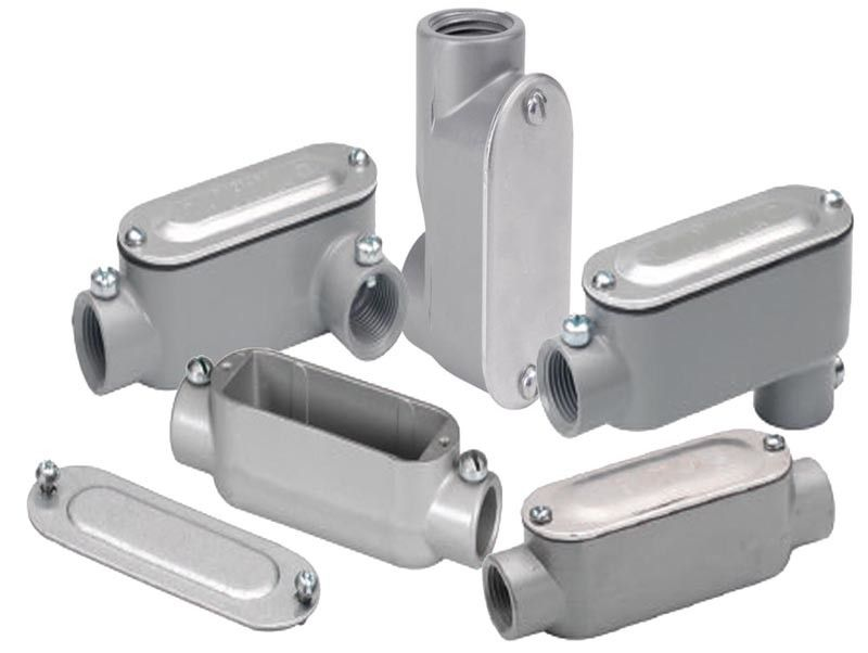 Powder coating stainless steel conduit fittings custom